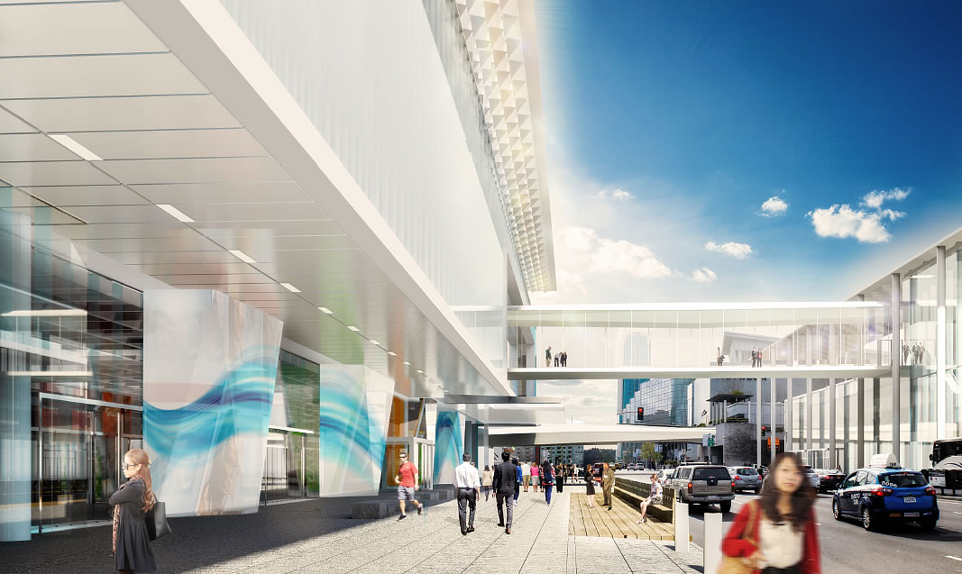 Moscone Center Expansion Design: Howard Street