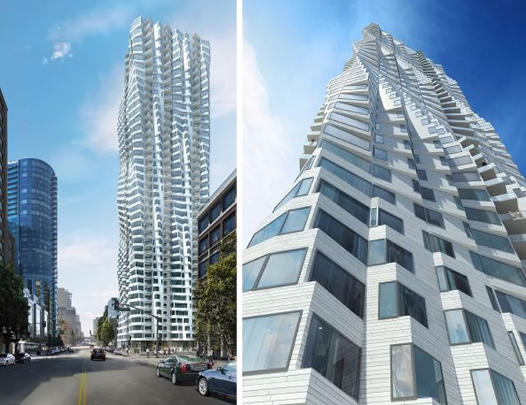 Jeanne Gang's Design For 400-Foot Transbay District Tower Unveiled