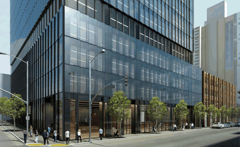 222 Second Street Rendering