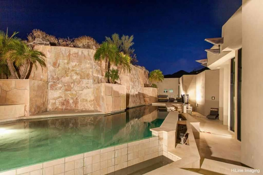 Tim Lincecum's Paradise Valley Pool
