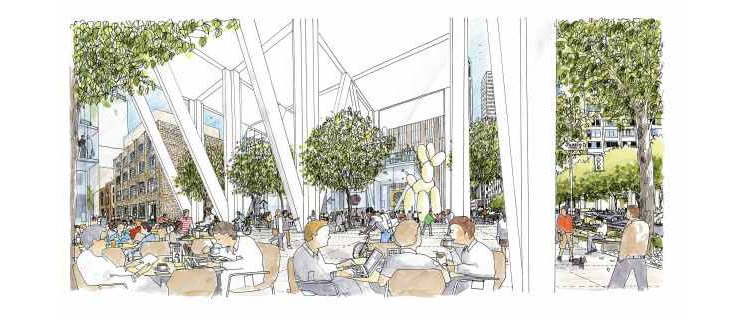 50 First Street Plaza Design