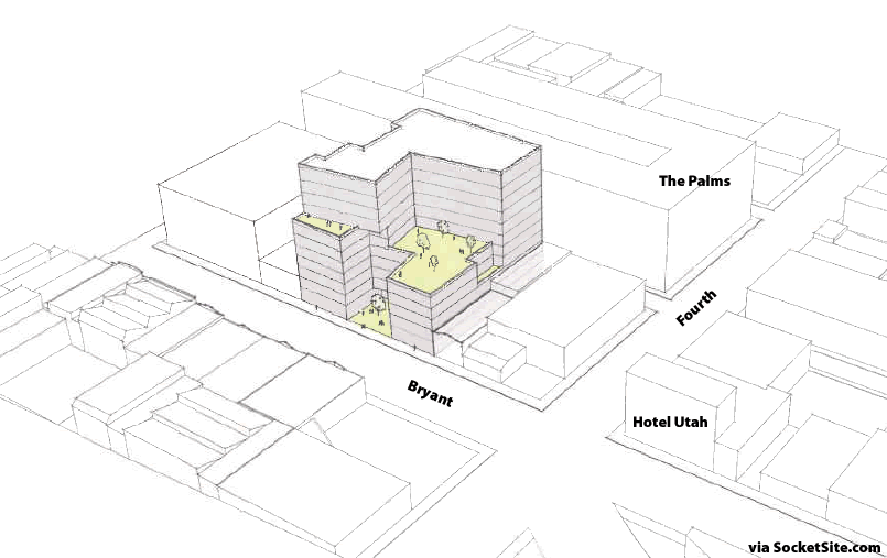 Big Plans For An Eleven-Story Building To Redefine Bryant Street
