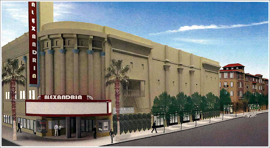 Alexandria Theater Rendering 2013