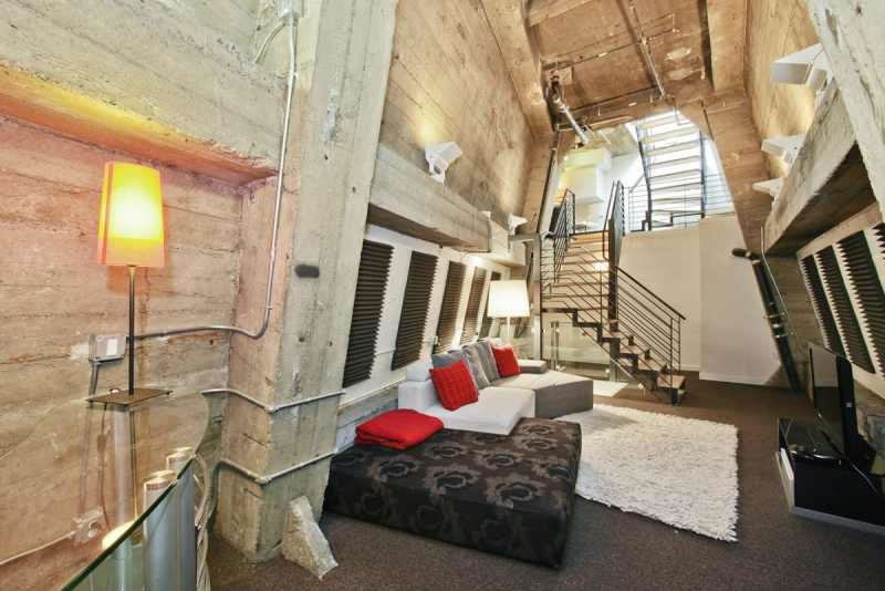 Cathedral Building Penthouse Attic