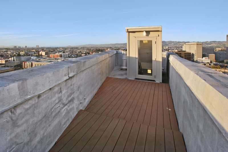 Cathedral Building Penthouse Roof Deck