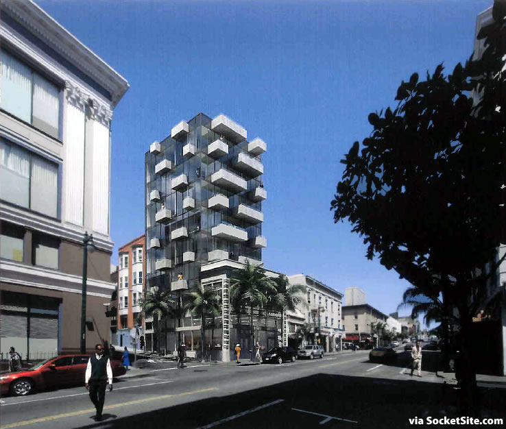 Modern Addition To Historic Polk Street Building Proposed To Rise