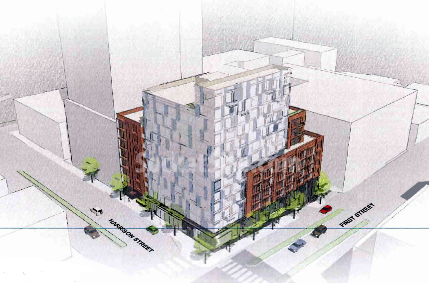Designs For The Development Of A Prominent Rincon Hill Corner