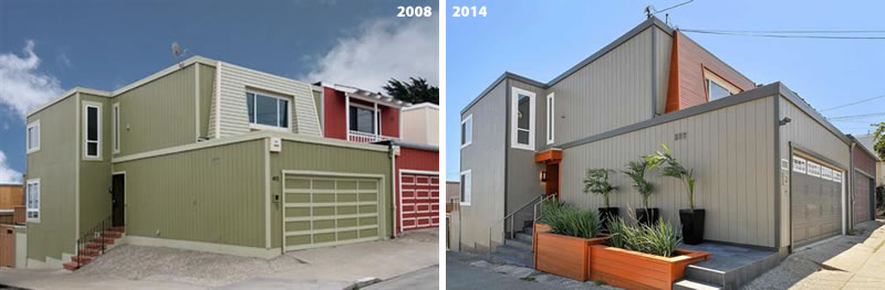 Before And After In Portola With A Foreclosure In-Between
