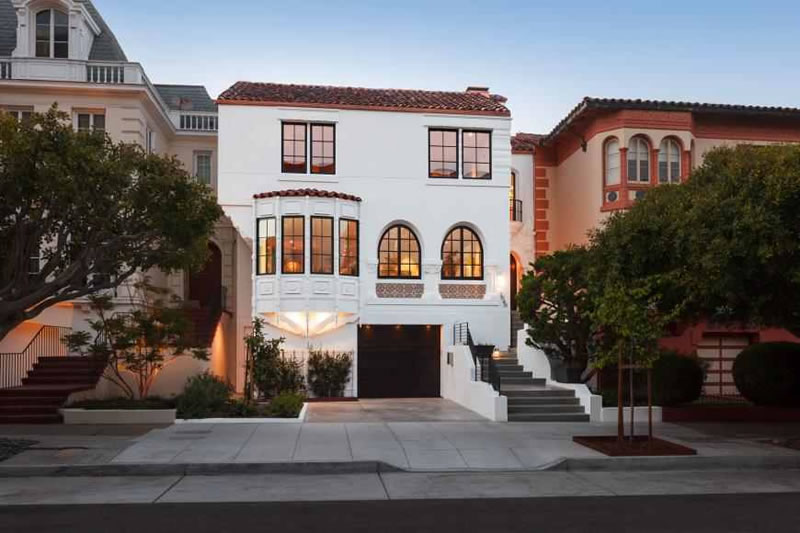Re-imagined Pac Heights Home Fetches Nearly $2K Per Foot