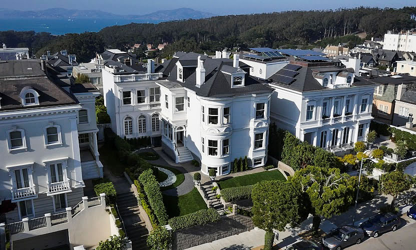 An $11M Presidio Heights Mansion Without A Garage (For Now)