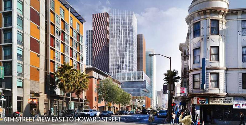 5M Project Rendering 6th Street View