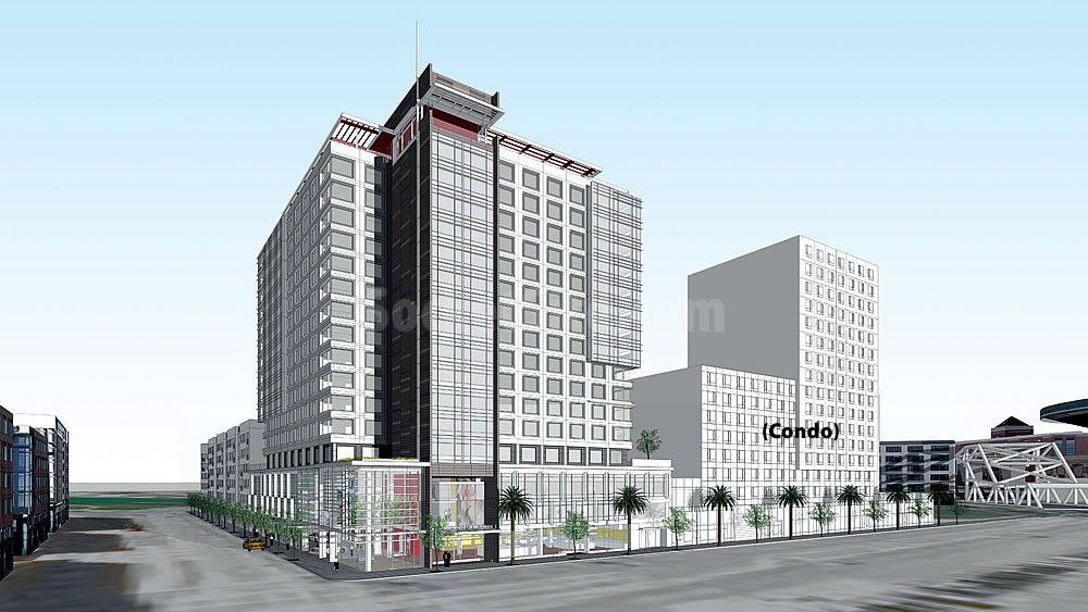 Socketsite new designs and timing for big mission bay hotel for New hotel design