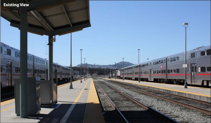 Existing San Francisco Caltrain Station