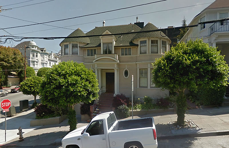 socketsite mrs doubtfire house nearly goes up in flames. Black Bedroom Furniture Sets. Home Design Ideas