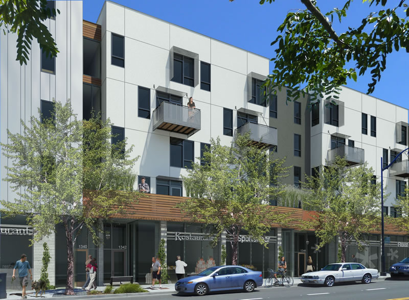 Mission Bay Block 7: Fourth Street Retail