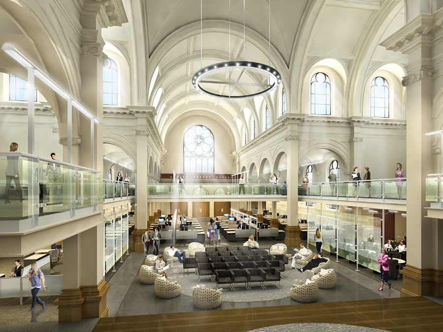 A High-Tech Conversion Of Saint Joseph's Church