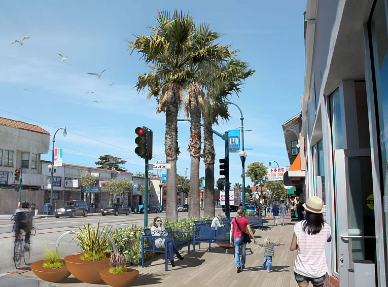 Ocean Avenue Overhaul Taking Shape