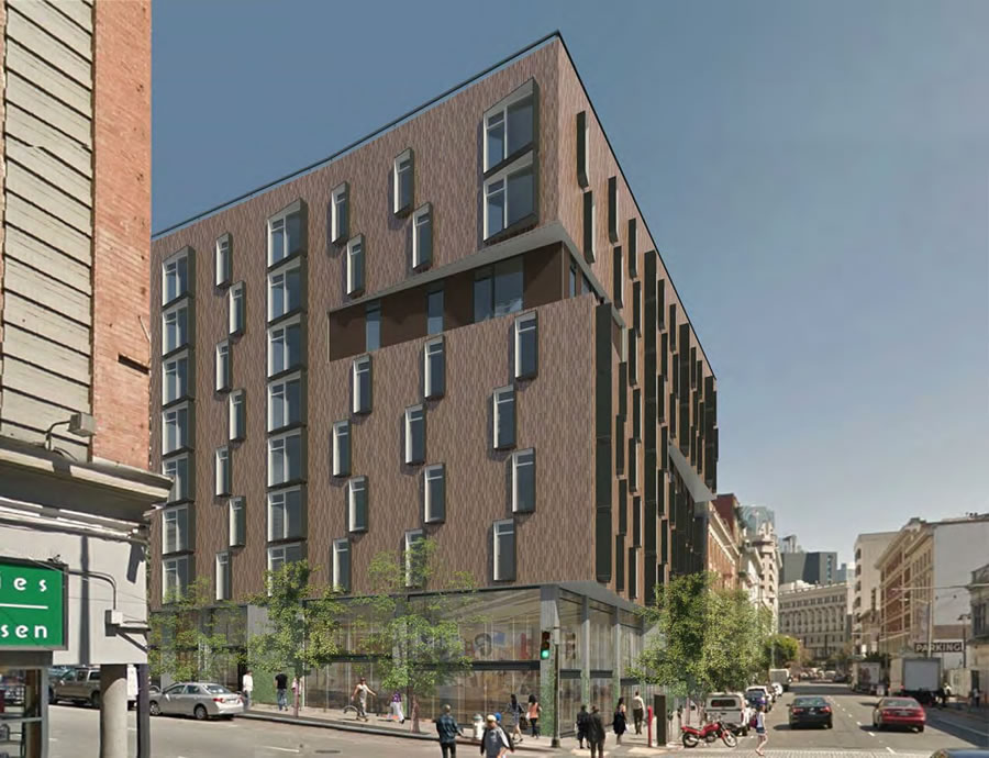 Downsized Development And Grocery Approved For Tenderloin Site