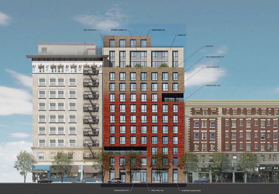 New Designs For Market-Rate Tenderloin High-Rise