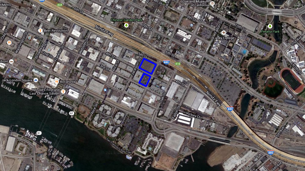 New Plans For Another 330 Apartments Near Jack London Square