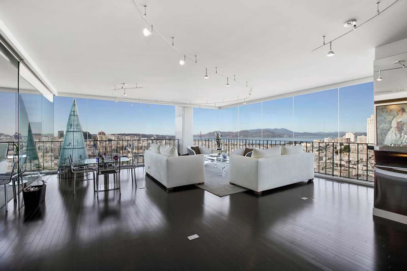 "Modern Nob Hill ""One-Bedroom"" Fetches $2.3M"