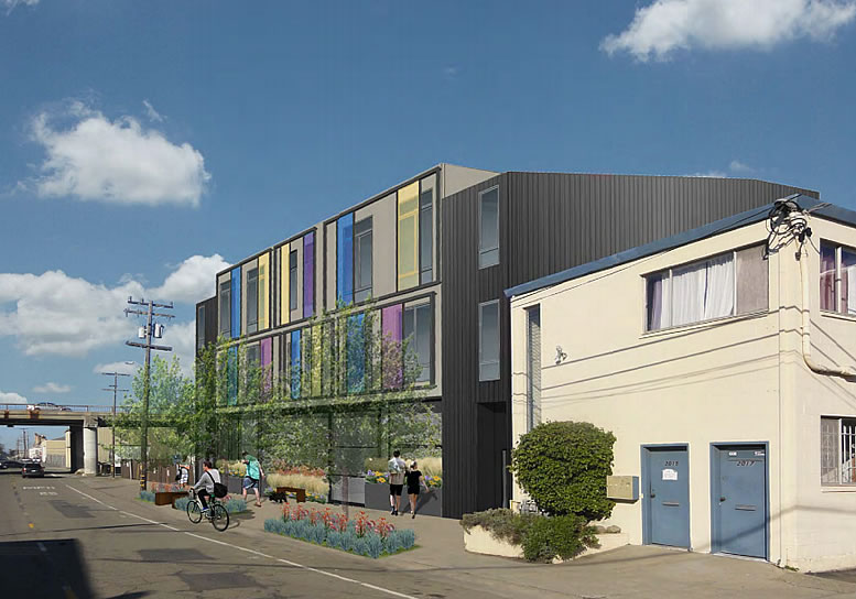 Live/Work Lofts For Makers Proposed For Former Animal Shelter Site