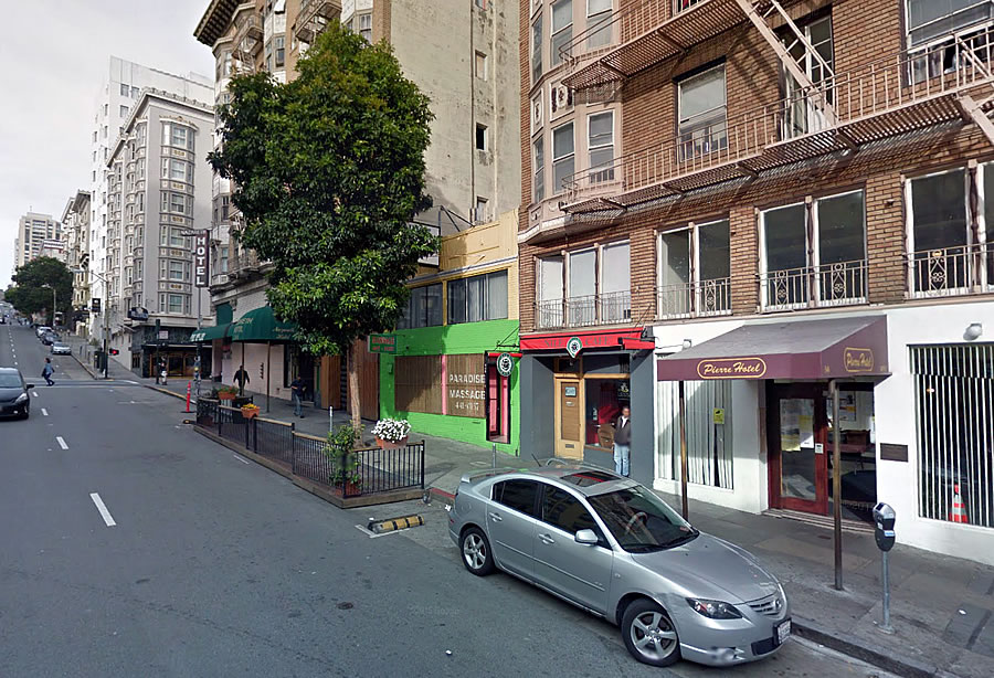 Permit For 'Massage Parlor Parklet' Yanked