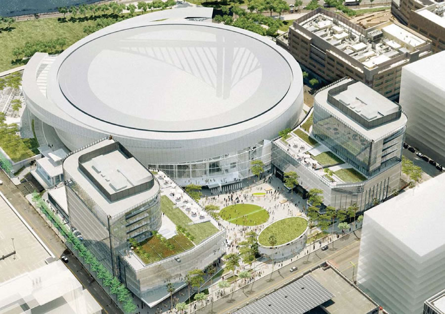 Fresh Perspective: Warriors Arena Plaza, Retail And Office Space