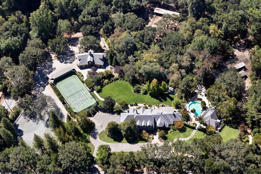 Five-Acre Woodside Estate Newly Listed for $10 Million Less