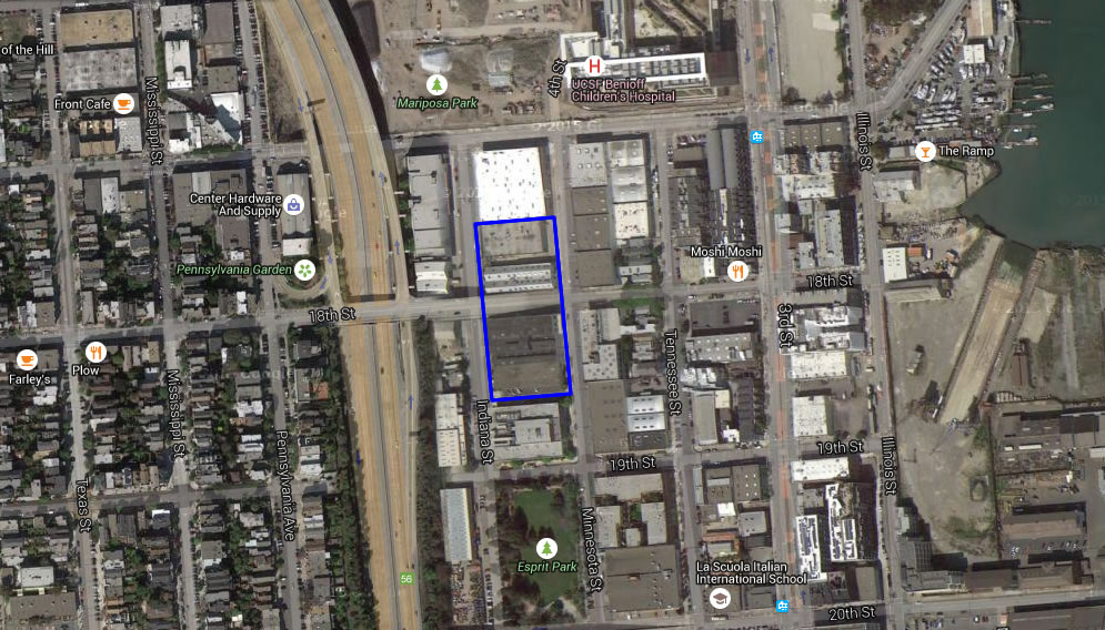 Dogpatch Site Could Yield 1,000 Units Of Student Housing For UCSF