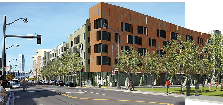 Mission Bay Block 7 West Rendering