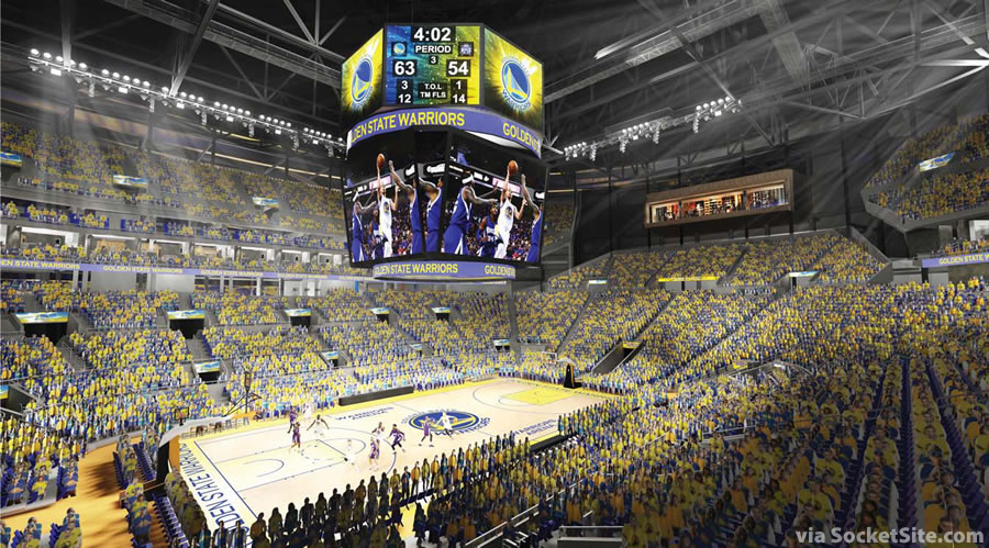 New Peek Inside Warriors' Proposed Mission Bay Arena
