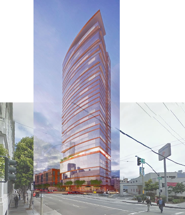 Planning Balks At Proposed Height For Central SoMa Tower(s)