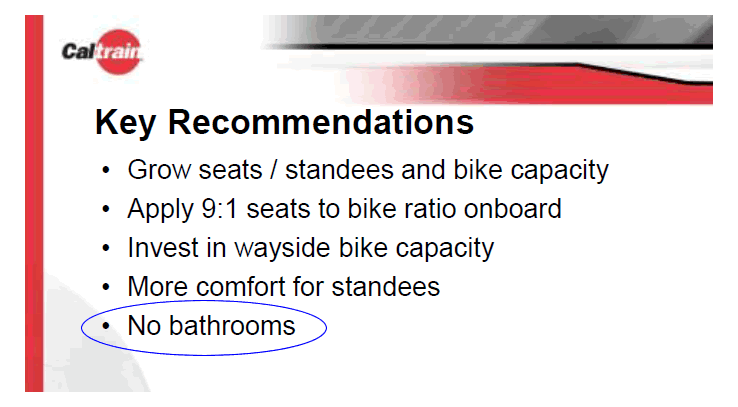 Awesome Caltrain Electric Train Car Recommendations