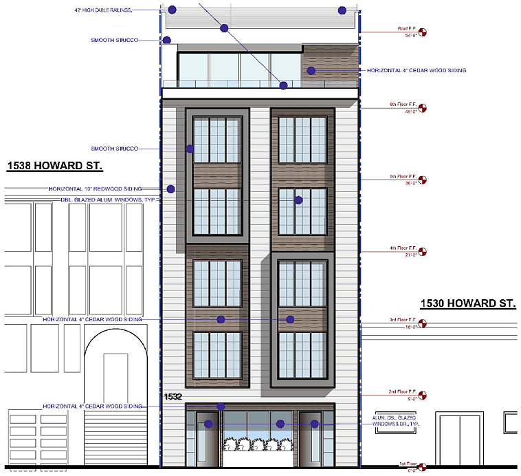 1532 Howard Street Design