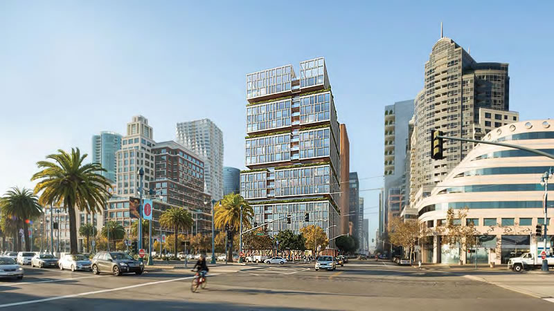 Proposed Waterfront High-Rise Fully Rendered, Ready For Review