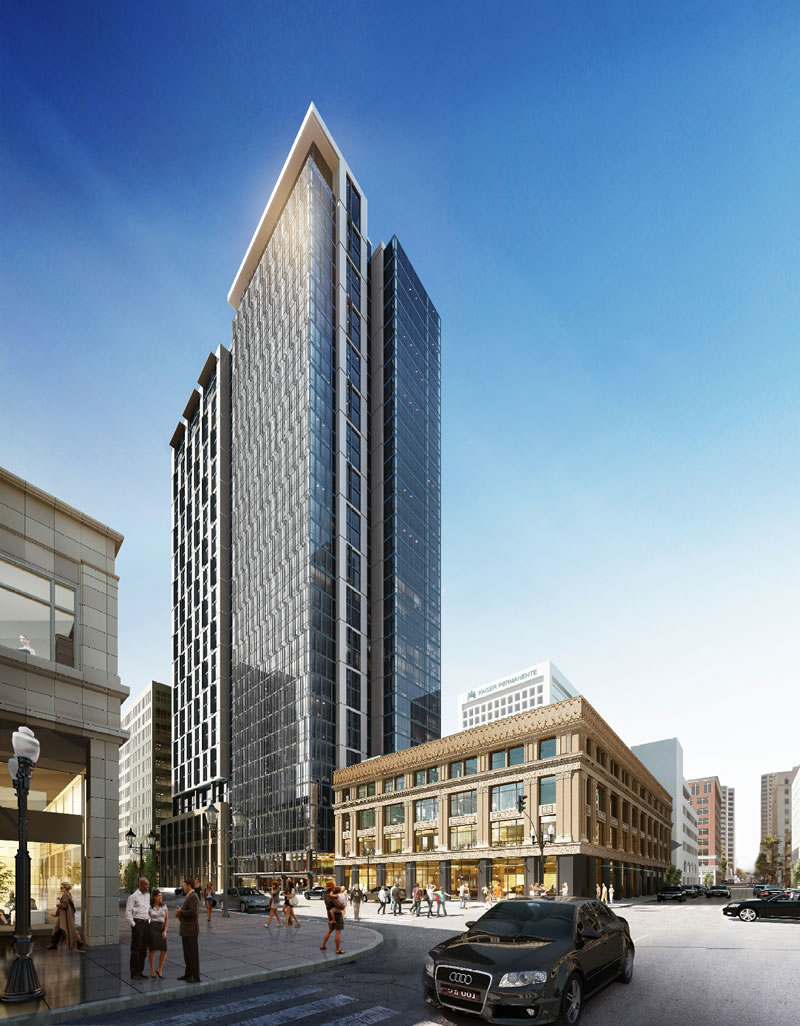 New Timing and Density for Oakland Tower Approved in 2015