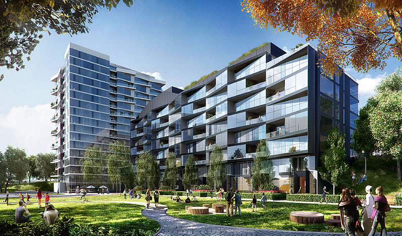 Parkmerced Phase 1: Block 20 Rendering