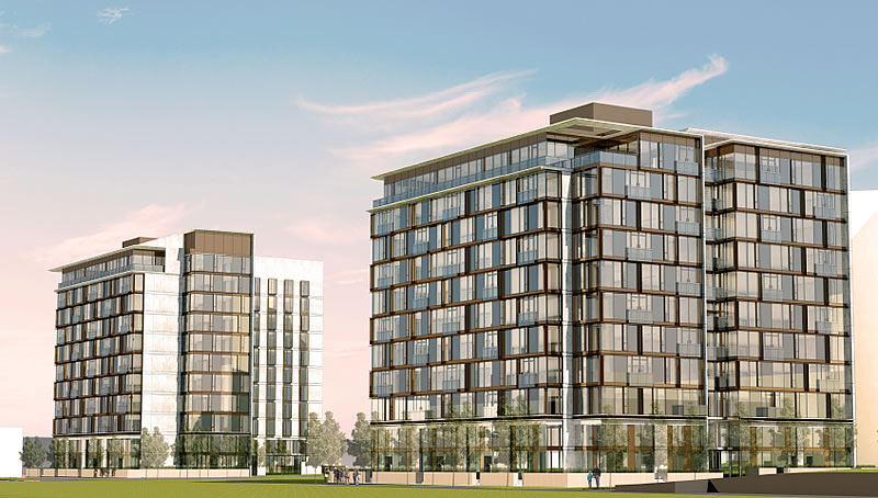 Parkmerced Phase 1: Block 6 Rendering