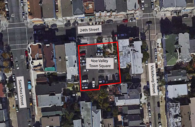 Noe Valley Town Square Funded, Slated For 2016 Opening