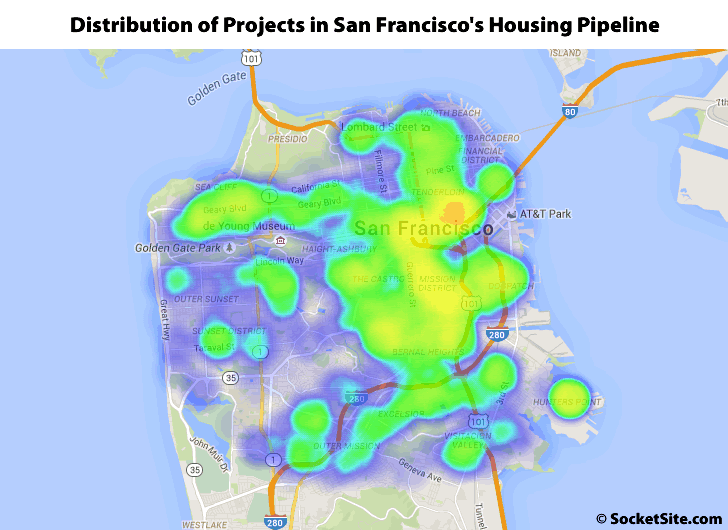 55,000 Units Of Housing In San Francisco's Development Pipeline