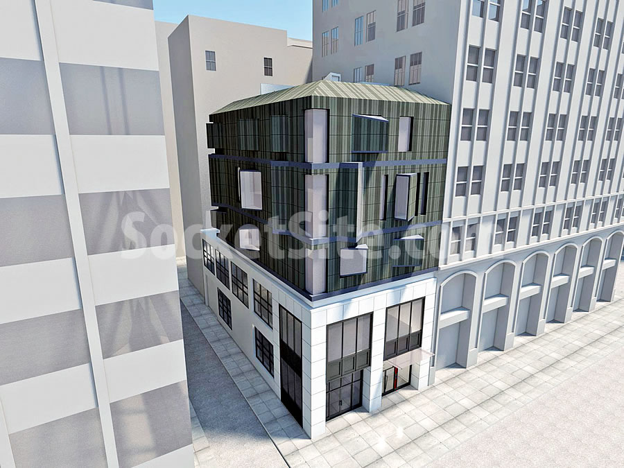 Plans For An Urban Townhome Addition Downtown
