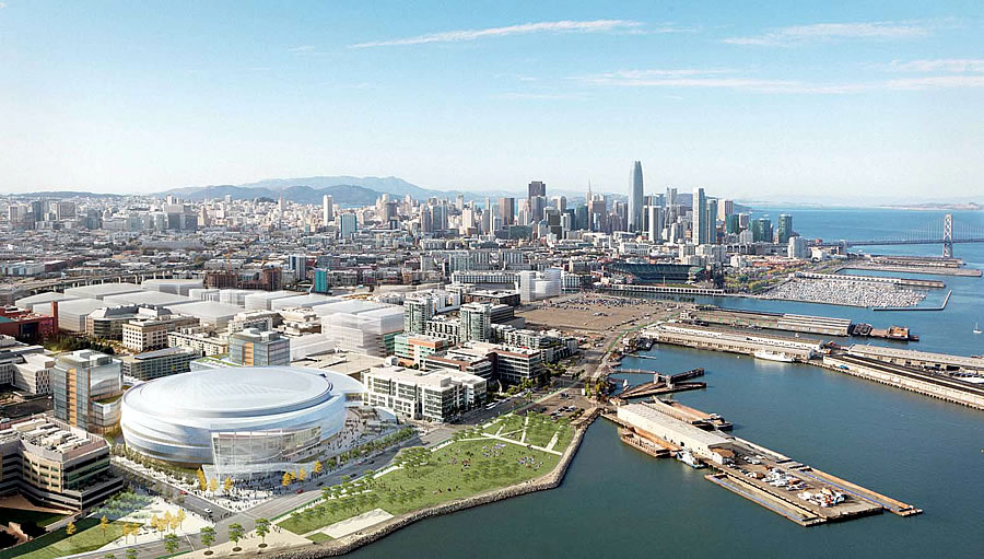 Warriors Arena Dubbed Chase Center and Now Too Big to Fail?