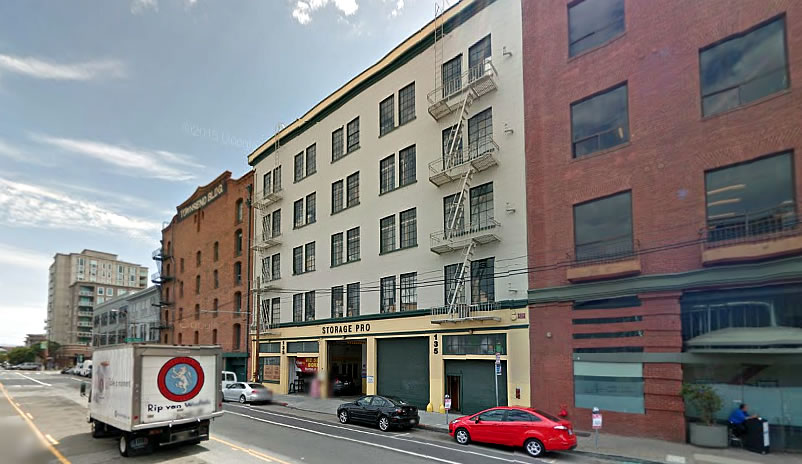 Plans to Convert SoMa Self-Storage Building Into Tech Space