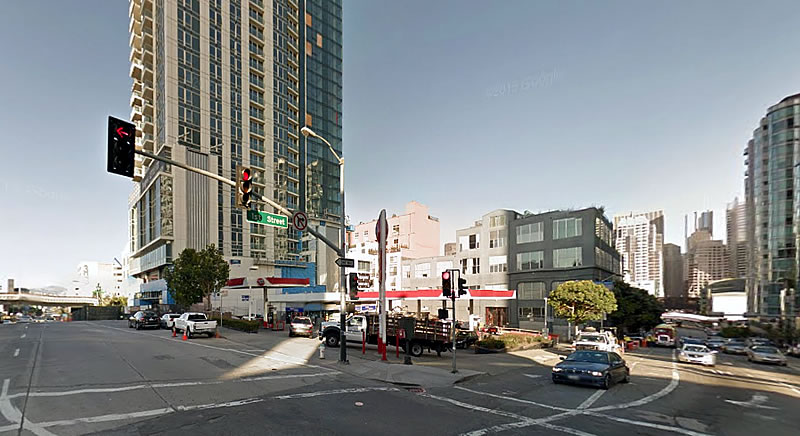 Plans to Raze Prominent Rincon Hill Gas Station Progress