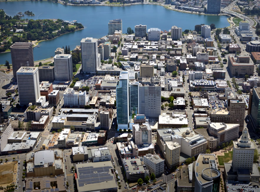 Plans for Tallest Residential Tower in Oakland Back in Play