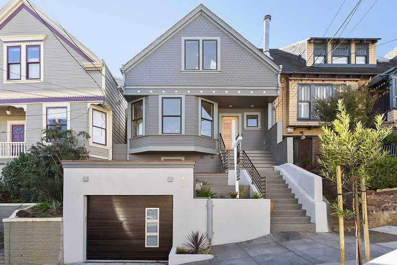 No Competition for a Reinvented Noe Valley Victorian