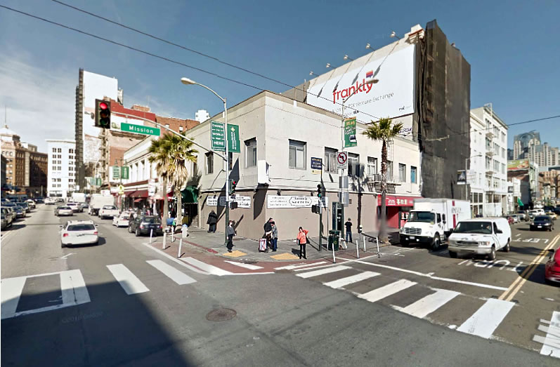 Plans for an Eight-Story Tourist Hotel on Sixth Street