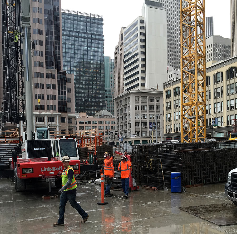 Transbay Tower Construction