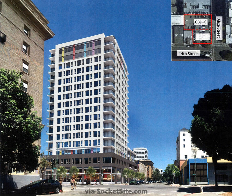 Refined Designs and Hearing for a 126-Unit Oakland Tower